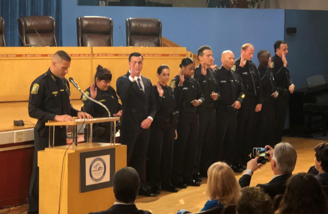Miami-Dade Schools Police Officers Sworn in Tuesday, July 3, 2018